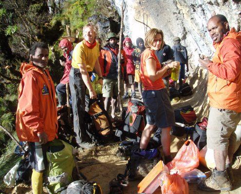 Carstensz Pyramide Basislager