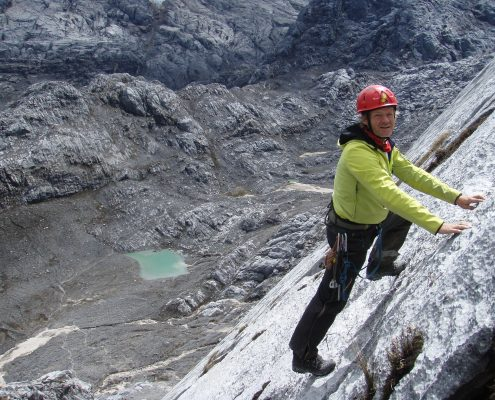 Carstensz Pyramide Nordwand