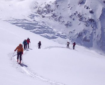Chamonix Aufstieg zum Col du Passon