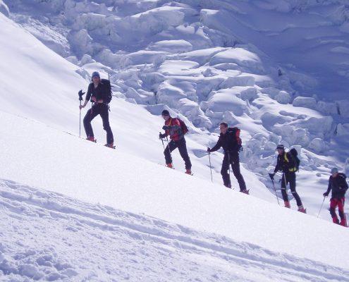 Chamonix Glacier du Tacul