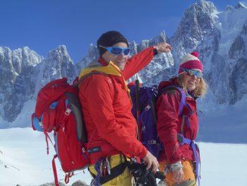 Klettersteig Chamonix : Laserer alpin haute route chamonix saas fee