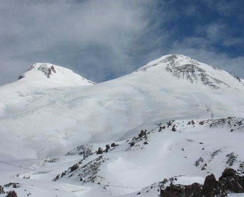 Elbrus Doppelgipfel