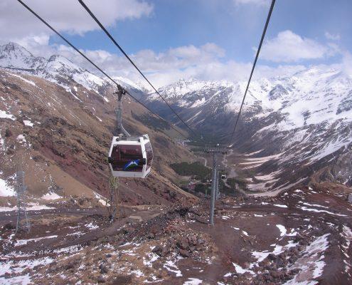 Elbrus neue Seilbahn