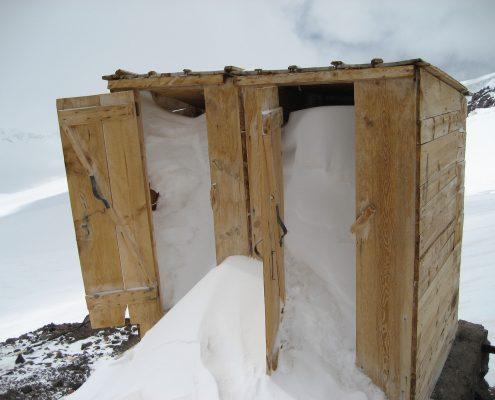 Elbrus russische Toilette