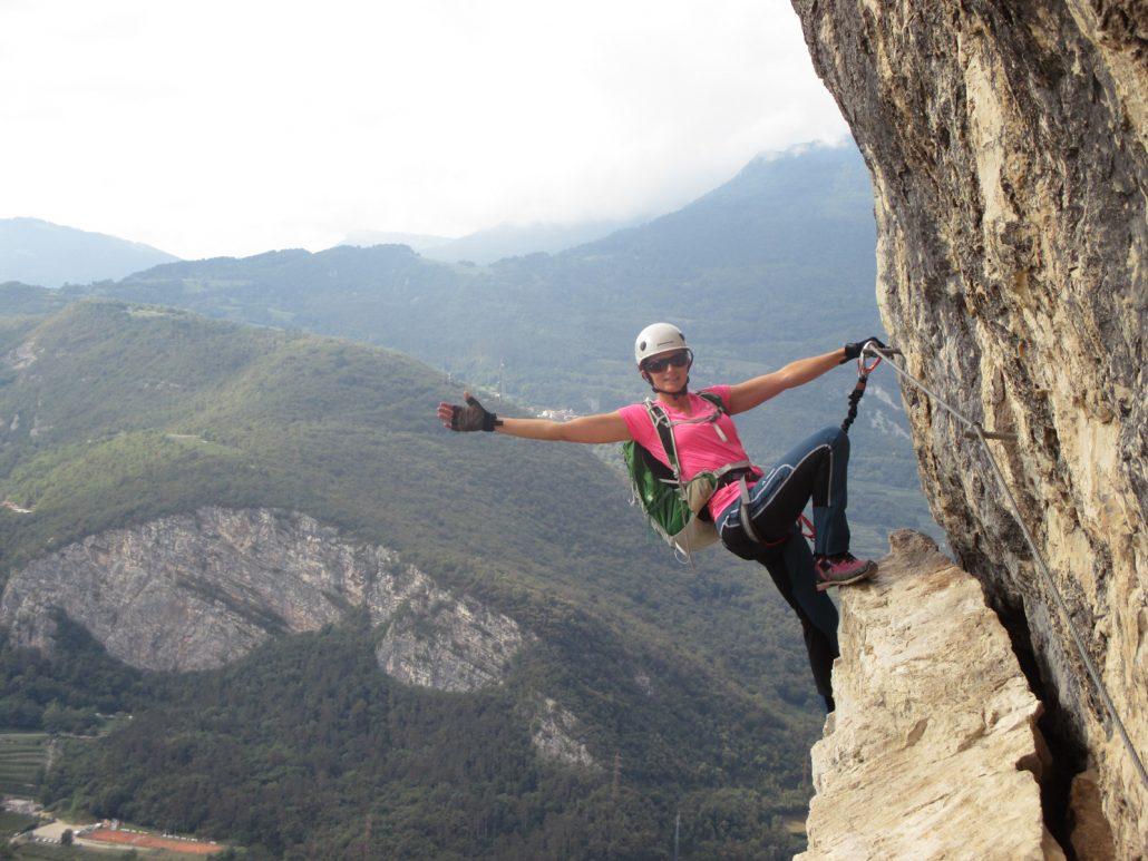 Klettersteig Arco : Laserer alpin klettersteige gardasee arco
