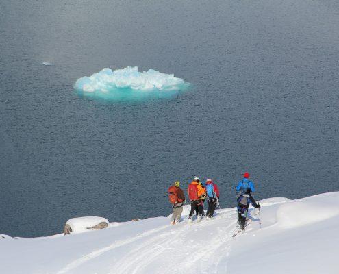 Grönland Blick ins Meer