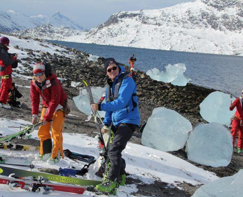 Grönland Eiswürfel
