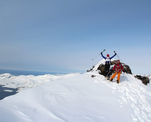 Grönland Gipfelfreuden
