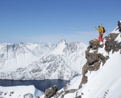 Grönland alpine Landschaft