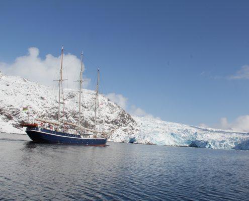 Grönland unser Schiff
