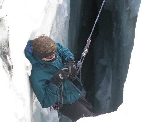 Gletscherkurs Im Gletscher Inneren