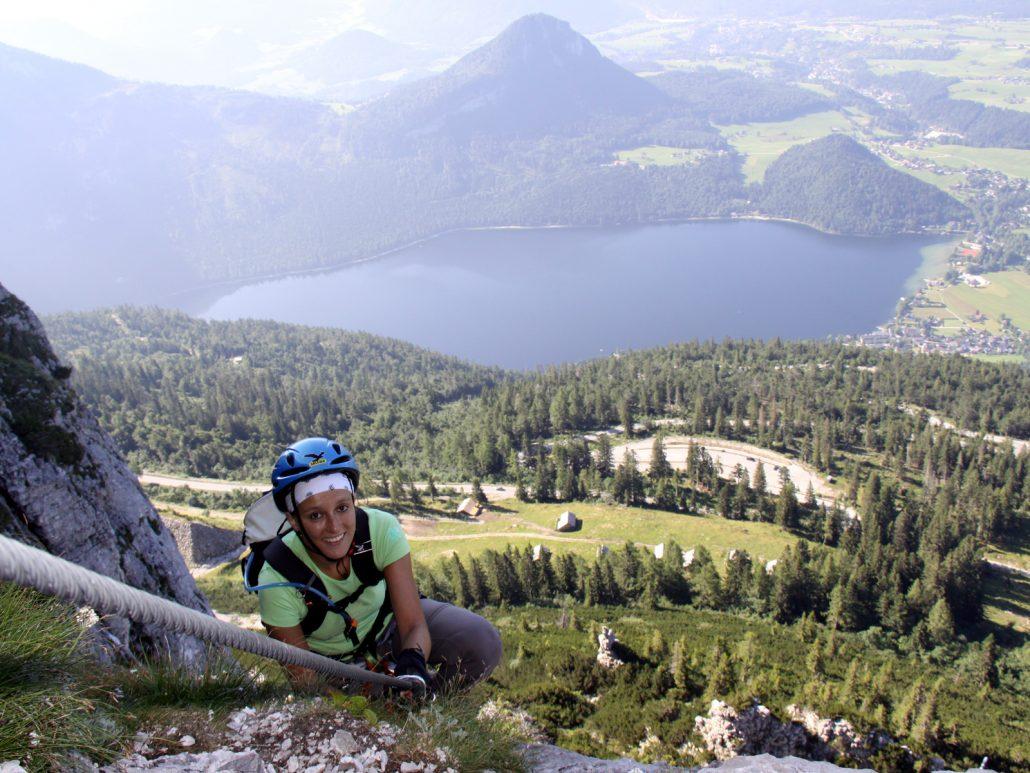 Klettersteig Gosau : Laserer alpin klettersteige gosau salzkammergut fordernd