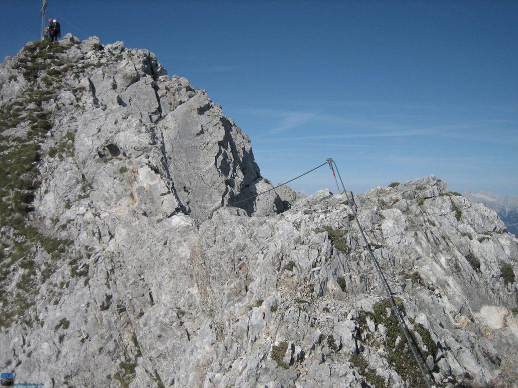 Klettersteigset Innsbruck : Bergfex Übungsklettersteig innsbrucker hütte klettersteig