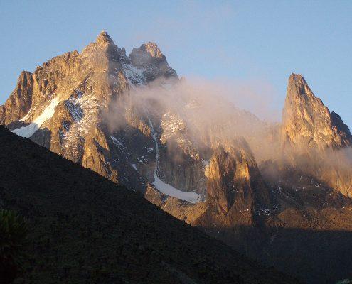 Mt. Kenia Gipfel