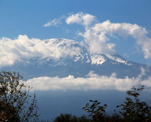 Kilimandscharo von Moshi