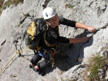 Mehrseillängen Kletterkurs