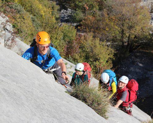 Klettern Gardasee Sonnenplatten