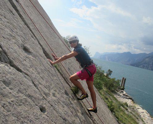 Klettern Gardasee Torbole