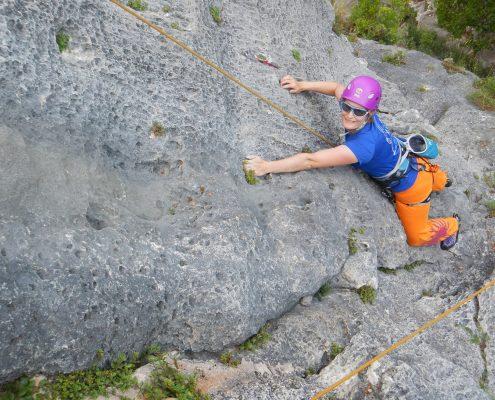 Klettern in Rovinj Dvigrad