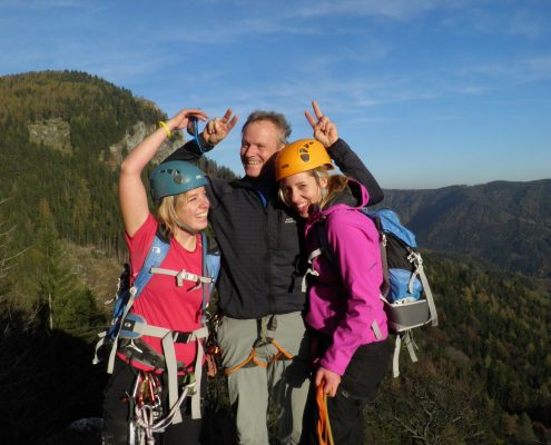 Klettern macht Spass