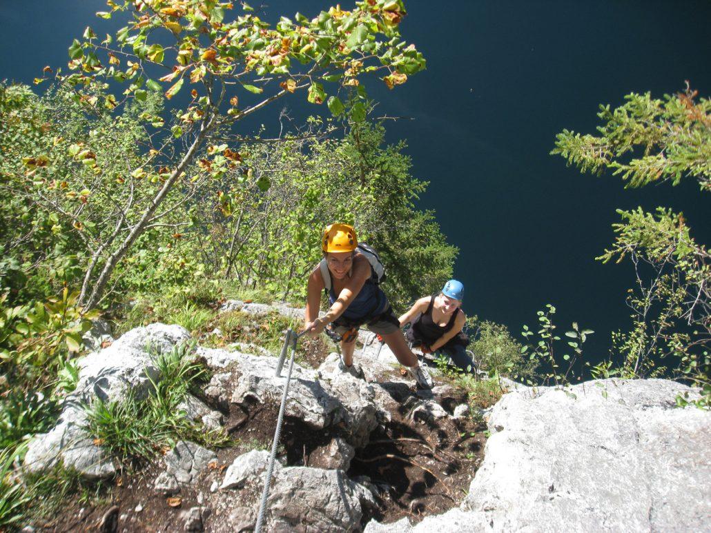 Klettersteig Gosau : Laserer alpin klettersteige gosau salzkammergut leicht