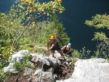 Laserer Alpin Klettersteig : Laserer alpin klettersteige gosau salzkammergut leicht