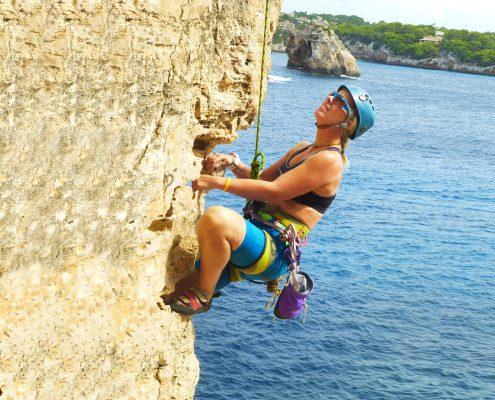 Klippen klettern Mallorca