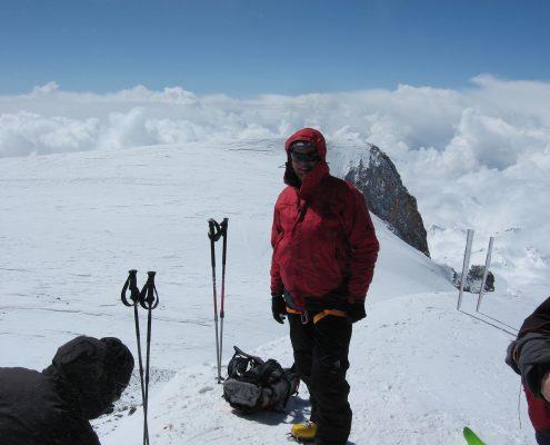 Loisl am Elbrus Gipfel