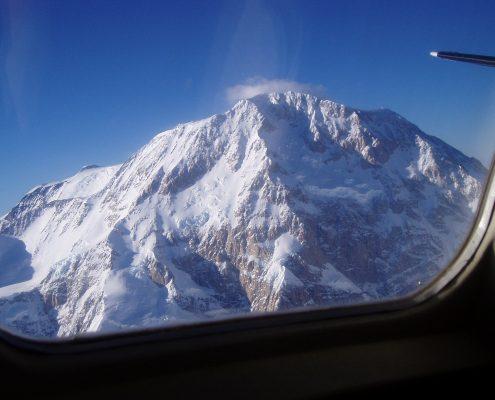 Mount McKinley aus der Luft