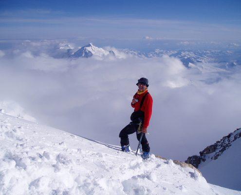 McKinley über den Wolken