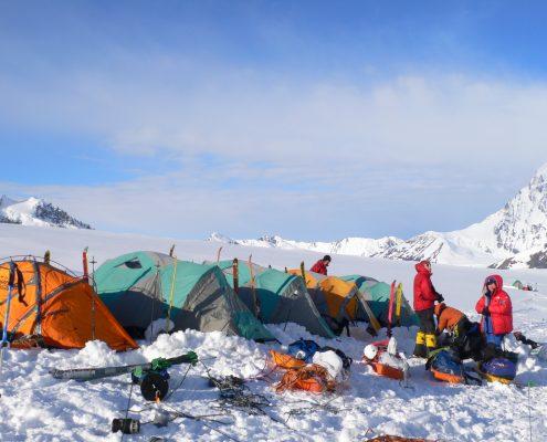 McKinley Camp 8 auf 8000 feet