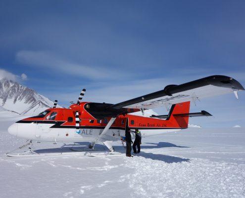 Mt.Vinson Flug Unionglacier Basislaer