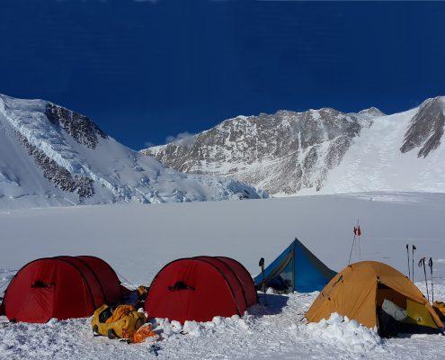 Mt.Vinson Basislager