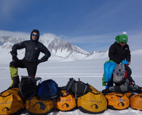 Mt.Vinson Expeditionsgepäck