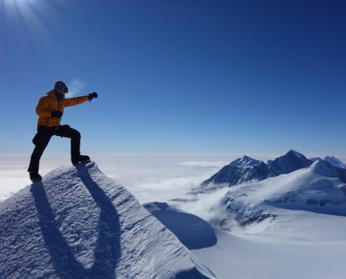 Mt.Vinson Gipfel