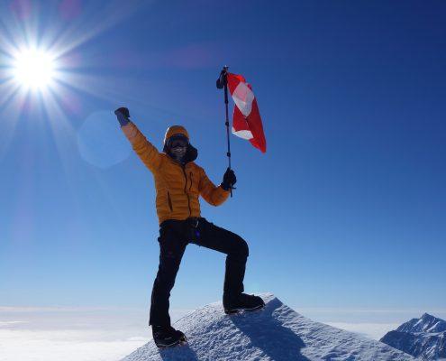 Mt.Vinson höchster Punkt der Antarktis