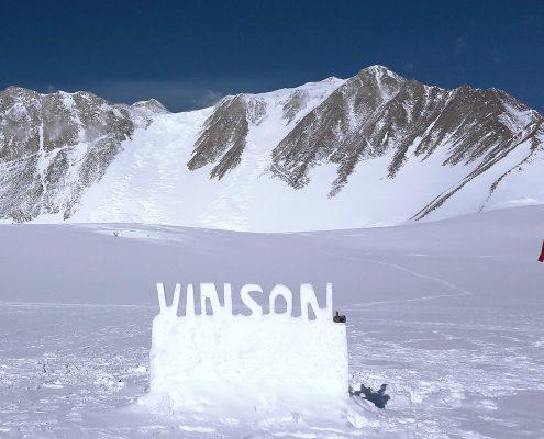 Mt.Vinson und Branscombglacier