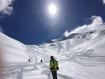 Skitourenwoche Sellrain Weisser Kogel