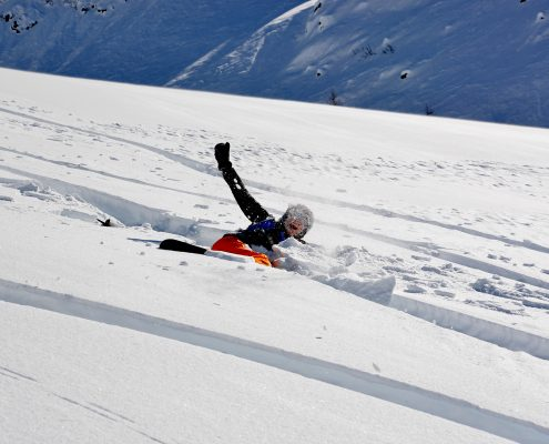 Skitechnik Einstieg