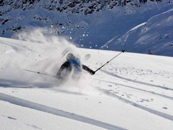 Skitechnik Vertiefung