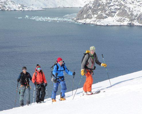 Skitouren in Grönland