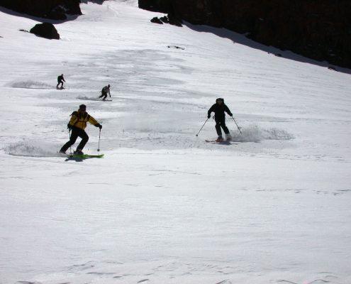 Skitouren Hoher Atlas Tizi Test