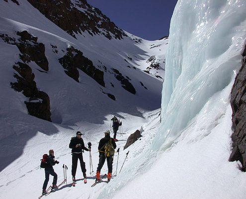 Skitouren Hoher Atlas Toubkal Nord