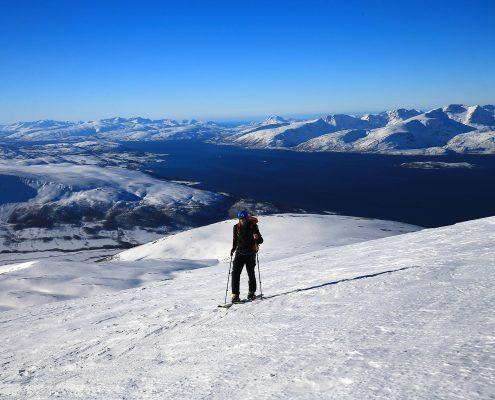 Skitouren im Lyngen Fjord