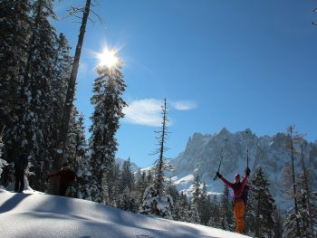 Skitouren in Gosau
