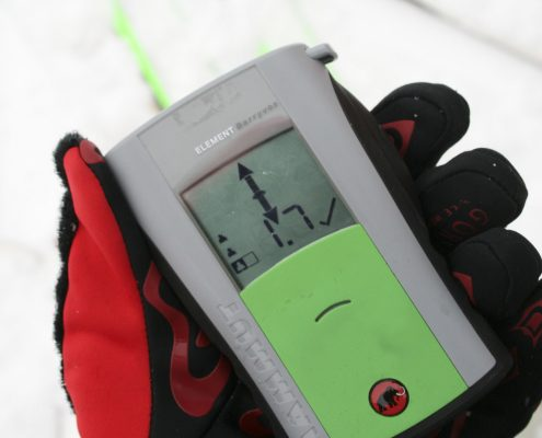 Skitourenkurs alpin VS Gerät