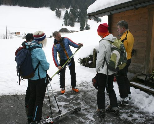 Skitourenkurs premium Ausruestungskunde