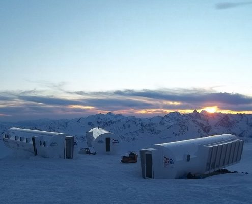 das neue Hotel LEAPrus am Elbrus